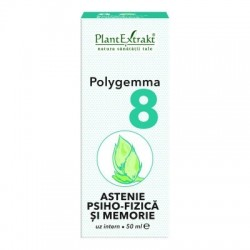 POLYGEMMA 8 - ASTENIE PSIHO-FIZICA si MEMORIE PlantExtrakt